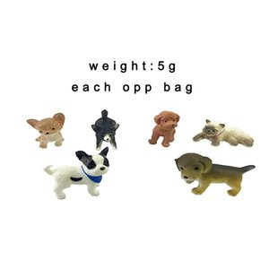 Colorful Resin Forest Animal Figurine Doll Custom Plastic Figure PVC Action Dalmatians Cat Toy For Adult