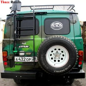 Three Ratels TZ-1334# 15*21.9cm car stickers 4x4 off road for lada niva uaz hunter patriot funny sticker auto