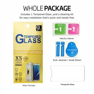 For NEW Iphone 12 mini 11 PRO XR XS MAX X 8 7 Samsung A50 S7 S6 Tempered glass Screen Protector Huawei Mate 20 X P20 lite pro Paper Package