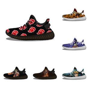 Wholesale chaussures de course sur mesure Naruto Akatsuki Cloud Fun Printing Femme Femme Femme Femme Slip Personnalisé Loisirs Randonnée Sports de sport
