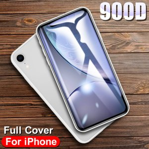 900D Curved Full Cover Tempered Glass on For iPhone Xr X 11 Pro XS MAX Screen Protector protective glass on iphone Xr 11 pro Max
