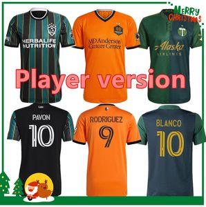 Игрок версия 2021 Los Angeles La LAFC Galaxy Soccer Tracks Trackys Portland Timbers Dynamo Футбольная футболка
