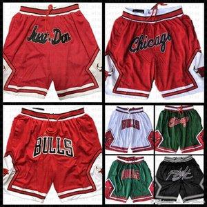 ChicagoPantalones cortos de baloncesto de Bull ClevelandCaballerosSolo don bostonCelticsBolsillo torontoRaptoresBermudas