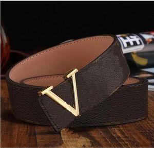 2021 Fashion Big buckle genuine leather belt belts men women high quality new mens belts AAA118