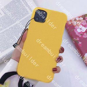 Cas de téléphone de mode pour iPhone 12 Pro Max Mini 11 11Pro 11Proxax 7 8 Plus x XR XSmax Cover Coquille PU Samsung Galaxy S10 S20P S20 S10P Note 10 20 Ultra