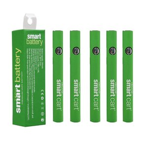 Smart Cartridge Battery Preheating Batteries 380mah Preheat VV Battery Vape Pen 510 Thread Bottom Micro USB Charger Port For Smart Cartridge
