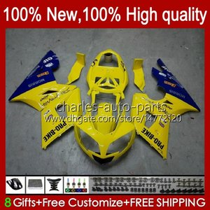 Kit bodywork per trionfo Daytona 600 650 cc daytona650 02-05 Cowling 104HC.20 Giallo in vendita Daytona600 2002 2003 2004 2005 Bodys Daytona 600 02 03 04 05 Full Fairings