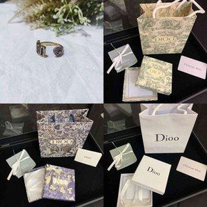 new Dejia Dijia full   diamond JA letter ring