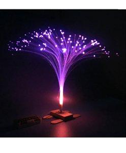 DIY DIY DIY Equipamento Experimental Criativo Tecnologia Criativa Enlightenment Divertido Quebra-cabeça Brinquedos Coloridos Fibra Óptica Luzes.