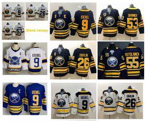2021 Buffalo Sabres Hockey Jerseys Mens Jack Eichel Jersey Victor Olofsson Sam Reinhart Rasmus Ristolainen Dahlin Colin Miller Zemgus Girgensons Stitched