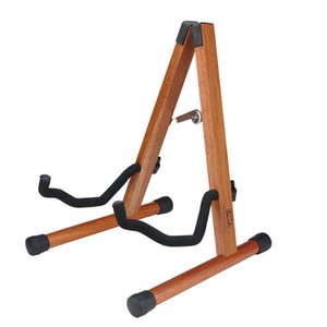 Hot Amazon Wooden A Type Guitar Stands Mahogany Stand For Acoustic Classical Electric Bass