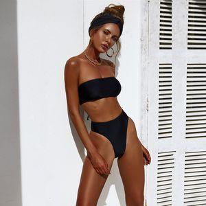 2021Sexy Bikinis Mujeres Set Batsuit Mujerder Vendaje Sexy Pak Mujeres Push Up Maillot The Bain Femme Micro Bikini Triangl Swimwear Push-Up Sujetador Trajes de baño