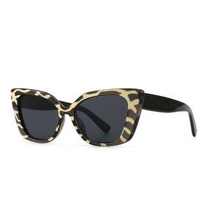 Modern charm V cat's eye frame sunglass ins wind sunglass sunglass4076