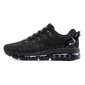مع صندوق إمرأة في الهواء الطلق أحذية الرحلات Onemix الرجال الاحذية تنفس شبكة مرنة دائم إيفا تسولي أحذية رياضية