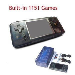 لعبة اللاعبين المحمولة 3.0 بوصة وحدة مدمجة في 1151 ألعاب مختلفة nostalgia الرجعية يدعم يده ل Neogeo / GBC / FC / CP1 / CP2 / GB / GBA