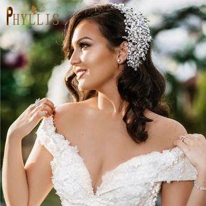 Strass Born Wedding Headband Bridal Tiara Gioielli Set Gioielli Gioielli Gioielli Donne Party Prom Copricapo Capelli Clip per capelli Barrettes