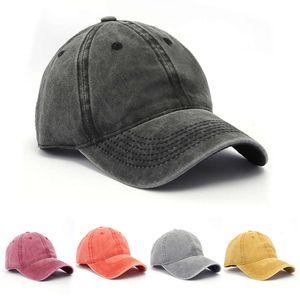 공 모자 왕이 yibo의 거리 패션 다재다능한 오래 된 워시 카우보이 모자, 남자의 야구 모자