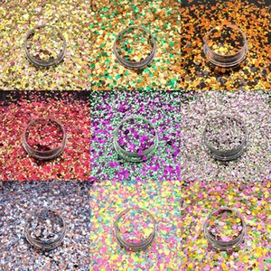 Nail Glitter Mixed Sequins For Nails Decor Accesorios Holographic 3D High Quality Art Decoracion Uñas Drop