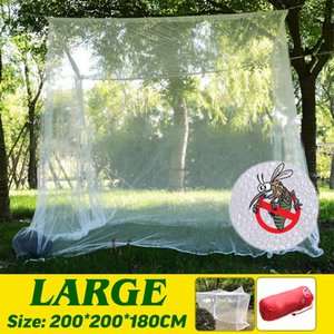 Camping Anti Mosquito Net 2M Large Portable Travel Outdoor Storage Bag Insect Household Repellent Tent Curtain Netting