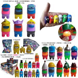 Entre nós Jogo Caixa Cega 7.5-10cm Character de Game Ação Figuras Random Caracteres Ação Cartões Surpreenda Presente Brinquedos Dropshipping