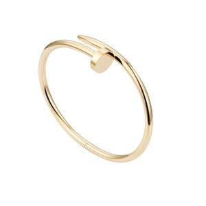 316L титановый сталь браслет бренд название ногтей панк любовь женщин и человек браслет пара ювелирных изделий с красной сумкой