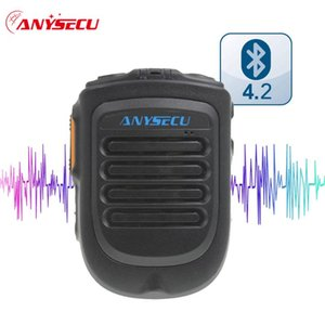 Walkie Talkie Anysecu Handheld Wireless Bluetooth-compatible PMicrophone B01 For 3G 4G Network Radio Android Mobile Phone REAL ZELLO