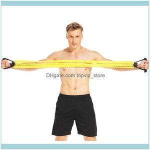 Equipments Supplies & Outdoorsrally Belt Three-Tube Chest Expander Pedal Arm Home Multi-Function Sports Fitness Equipment Aessories Resistan
