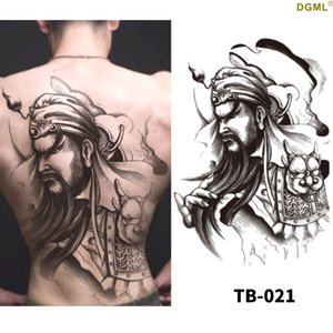 TS008 3d tattoo stickers sexy woman fashion waterproof temporary for full body back cover big size 32x43cm watertransfer