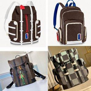 5 Цветов Мужской рюкзак Кристофер Школьная сумка Баскетбол Рюкзак Путешествия Спорт Рюкзаки Дизайнеры Большие Сумки Новый D3ZE #