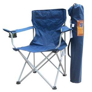 تحمل 120kgs الترفيه في الهواء الطلق للطي كبير كرسي الصيد صالة كرسي البرية التخييم الصيد / البراز شاطئ سهلة حمل الملحقات