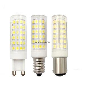 Bulbs No Flicker G9 E14 B15 GY6.35 11W LED BULB AC 110V 220V 76LEDS 2835 Light Lamp Chandelier Replace Halogen Lighting
