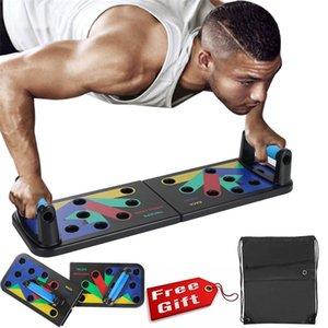 Em stock Push Up Board em Body Building Home Abrangente Fitness Equipamento Equipamento Fodable Ajustável Push-up Stands Gym 473 x2