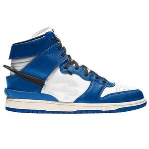 Shoes With Logo SB Dunks Mid Black White Basketball Chicago Deep Royal Blue AMBUSH x Dunks 1s