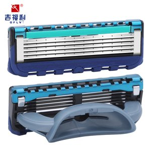 Gifly 5-layer Razor Blade Replacement Men's Manual Shaving 4 Blade Color Can Be Selected