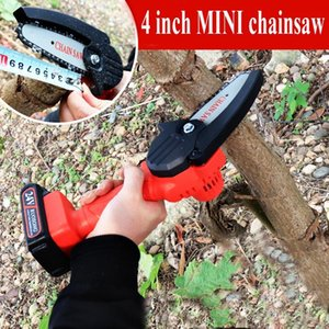 Power Tool Sets Electric Chain Saw Cordless Mini Portable Handheld Rotary For Cutting Woodworking Tools 1200W 4inch Sunshine