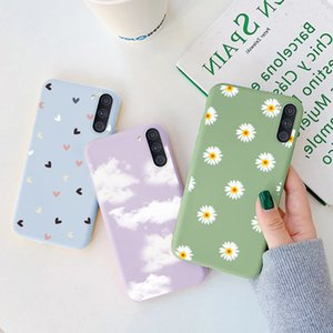 For Galaxy A11 M11 Case Soft Silicone Back Covers A M 11 GalaxyA11 GalaxyM11 Protective Flower Bumper Coque