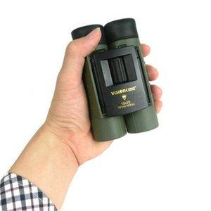 Visionking Binoculars 10x25 Portable Pocket Foldable Low Light Level Night Vision BK7 Film HD Watch SW SW10x25