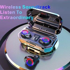 Atacado TWS Bluetooth Fones de ouvido sem fio Fones de ouvido sem fio Controle Original Esporte À Prova D 'Água IPX5 Headset Fones de Ouvido com Microfone M12