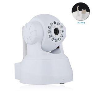 1280x720P  EU UK Plug Baby Monitor Wifi Wireless Voice Monitoring Camera Alarm Equipment Security Surveillance Camcorders