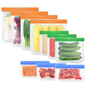 Storage Containers Cooking Bag Silicone Food Preservation Reusable Airtight Seal Versatile