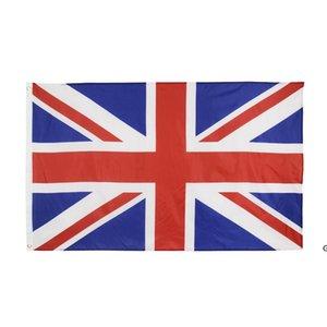 high quality 90*150cm 3*5fts 100% polyester Union Jack United kingdom UK flag DHB5808