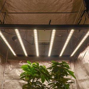 Büyümek Işıklar 640 W Tam Spektrum LED Işık Kiti Çift Uçlu HPS Denetleyici Reflektör Hidroponia Kapalı Bitkiler