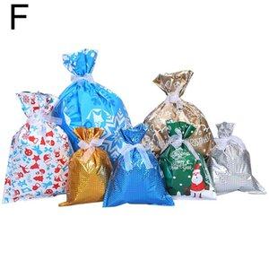 Christmas Candy Bags DrawString Подарок Goodstry Goody с отпуском бабочка Отправления F2 Wrap