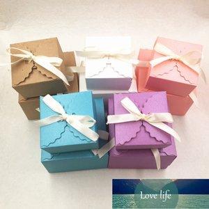 Party Supplies 20 stücke Bunte Geschenkbox Kraftpapier Aufbewahrungsboxen für Hochzeit / Schmuck / Süßigkeiten / Lebensmittel \ Schokolade \ Party Packing