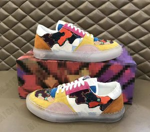 Erkek Ollie Sneaker Düşük Üst Tasarımcı Ayakkabı Koşucu Eğitmenler Deri Dantel-up Şeffaf Kauçuk Taban Rahat Ayakkabılar