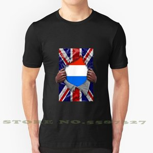 Flag Ripped - Born in Kingdom Roots From Fashion Vintage Tshirt t Shirts Netherlands Dutch United