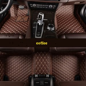 Custom 5 Seat car floor mats for audi a1 a2 a3 sportback a4 a5 sportback a6 a6l a7 a8 car mats jh gb nh