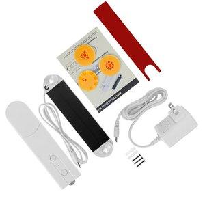 Smart Home Control Diy Моторизованные цепные роликовые жалюзи тени затвора приводной двигатель на основе солнечной панели и зарядным устройством Bluetooth