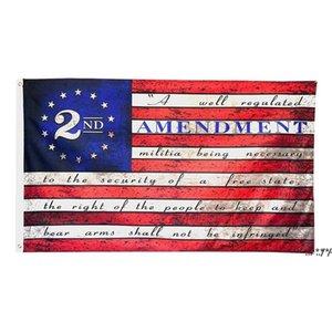 2. Änderungsantrag USA Amerikanische Flagge Polyester 150x90cm 3x5 ft FWF5803