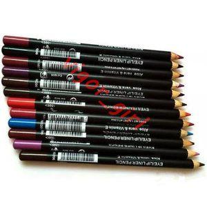 Dropshipping Lip Liner подводка для глаз карандаш хорошее качество алоэ вера витамин е водонепроницаемая длительная косметика самая низкая цена